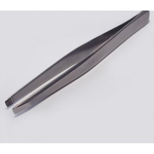 T4-10-01 (П-06) Пинцет для бровей(широкие прямые кромки)