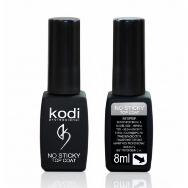 Kodi Professional Top Coat No Sticky (верхнее покрытие без липкого слоя) 12ml
