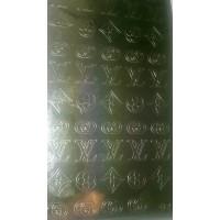 Металлизированные наклейки Золото №9