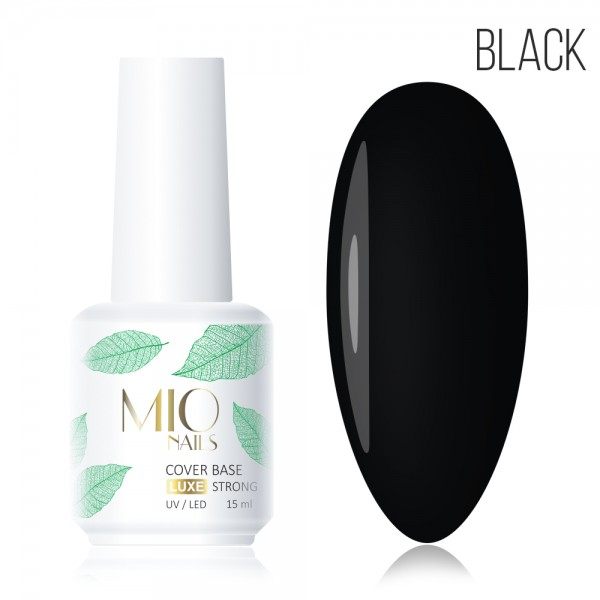MIO Base Cover Strong LUXE черная,15 мл