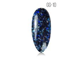 Гель-лак. Коллекция «Glitter Gel» № 10