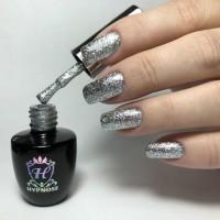 Гель-лак Hypnose Vip Gloss - 073-04, Silver rain, 10 мл