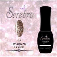 "Гель-лак ""Serebro"" Crystal №05, 11 мл"