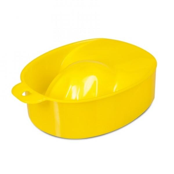 Ванночка для маникюра,желтая
