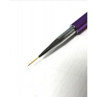 Кисть сиреневая,стразы 15 мм