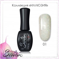 "Гель-лак ""Иллюзия"" ""Serebro collection"" №01, 11 мл"