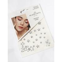 Miamitats Кристаллы на клейком слое для лица, волос и тела Twinkle stars