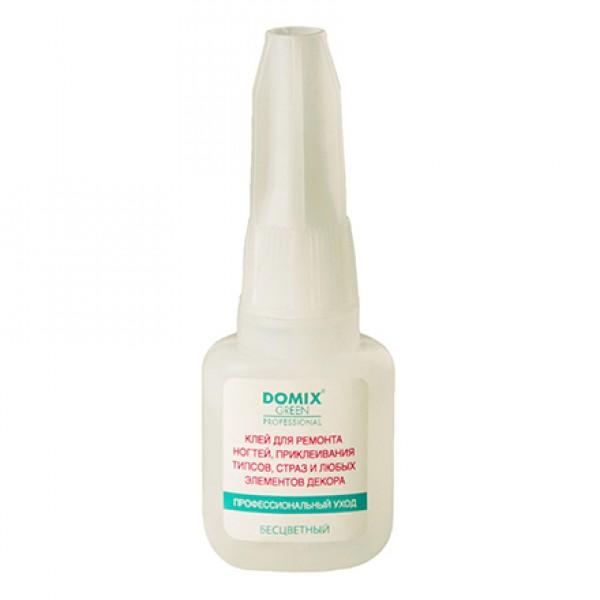 Клей для ногтей и типсов быстросохнущий DOMIX