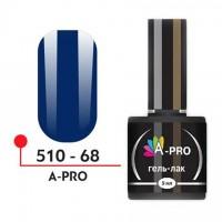 """Гель-лак """"A-PRO"""" № 68, 5 мл"""