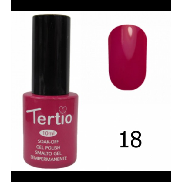 Гель-лак Tertio - 018,10 ml