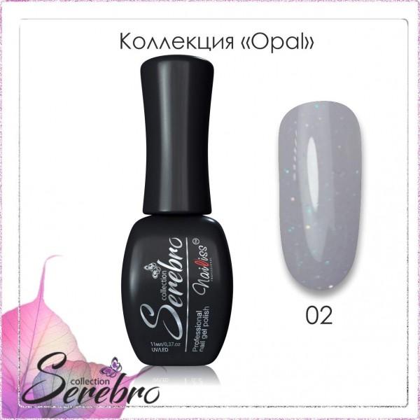 """Гель-лак Opal """"Serebro collection"""" №02, 11 мл"""
