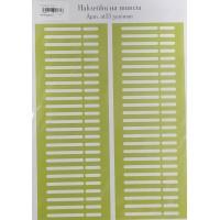 Наклейки на типсы зеленые, NT13