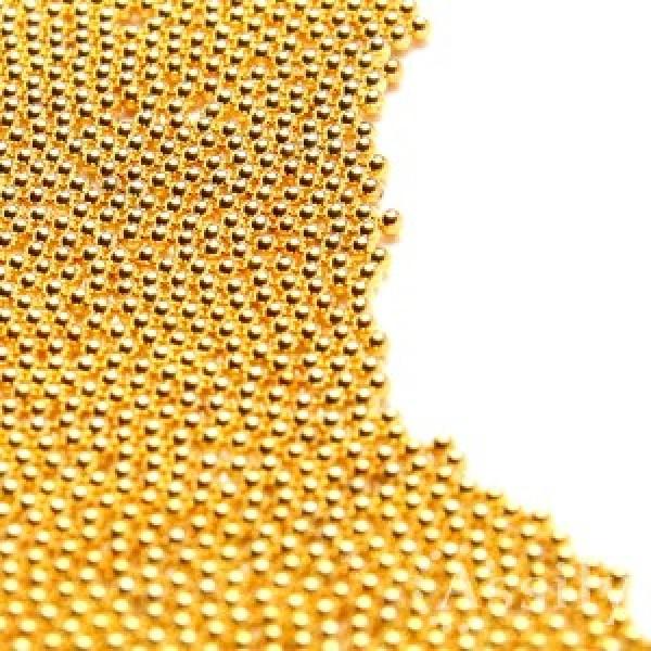 Бульонки для дизайна золото