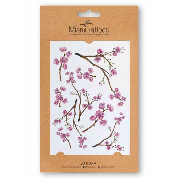 Miamitats Переводные тату Sakura