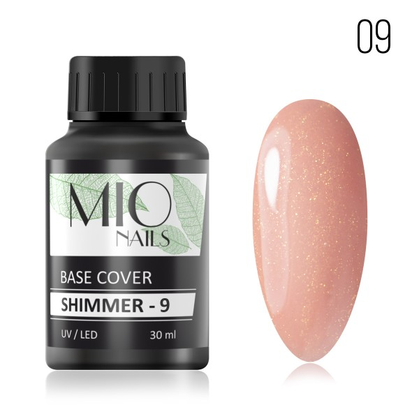 Mio SHIMMER Base Cover Strong LUXE №9,30 мл