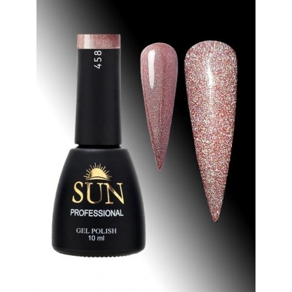 SUN Professional Светоотражающий гель-лак № 458,10мл