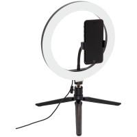 Светильник настольный кольцевой Artstyle TL-601B, 10Вт, LED, диммирование 10 уровней, USB-порт