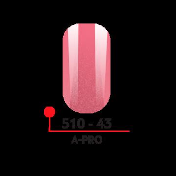 """Гель-лак """"A-PRO"""" №43, 5 мл"""