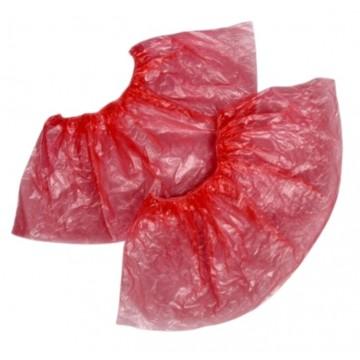 Бахилы медицинские красные.35 пар