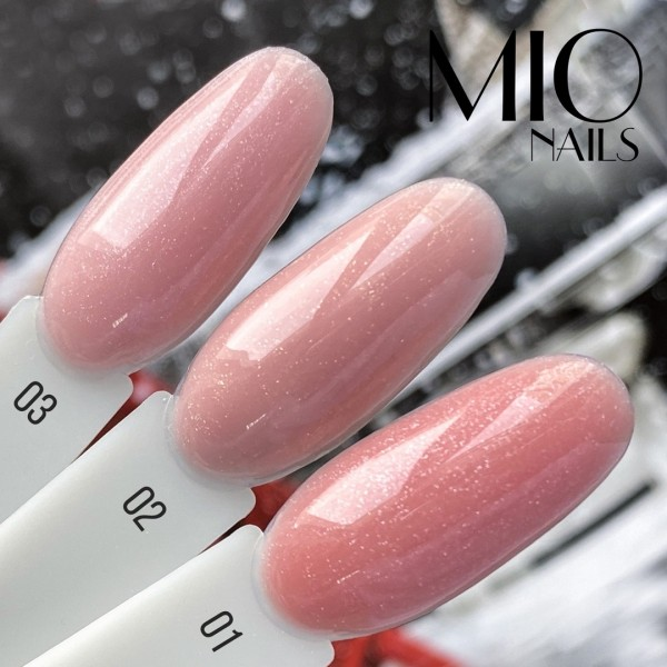 Mio SHIMMER Base Cover Strong LUXE №2,15 мл