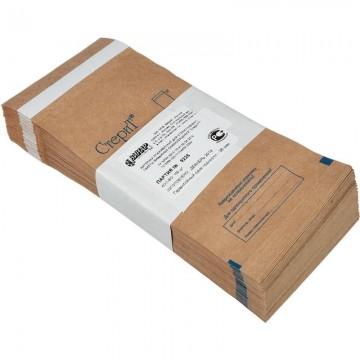 Крафт-пакеты 75х150 с самоклеющейся пленкой ,100 шт
