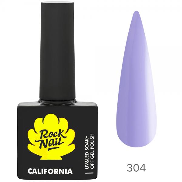 Гель-лак RockNail California 304 Ultra Violet