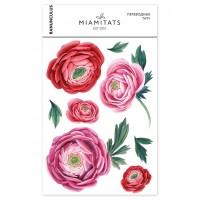 Miamitats Переводные тату Ranunculus