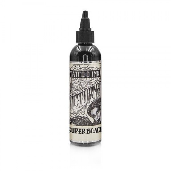 Nocturnal — «Super Black» краска для татуировки 60 мл(2Oz)