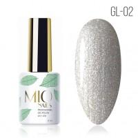 Гель лак MIOnails № GL-02. 8 ml