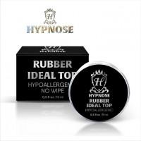 Верхнее покрытие для гель-лака Hypnose Rubber Idel Top no wipe, банка 15мл