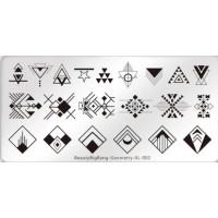 Пластина для стемпинга BeautyBigBang  Geometry XL-002