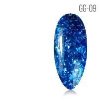 Гель-лак. Коллекция «Glitter Gel» № 09