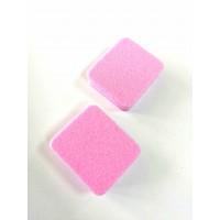 Баф одноразовый розовый,50 шт