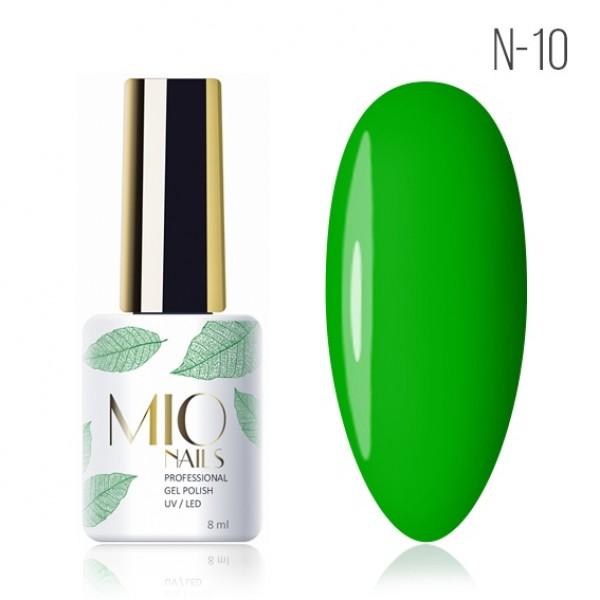 Гель лак MIOnails № N-10. 8 ml