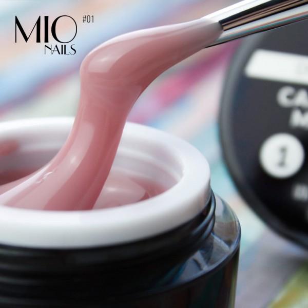 MIO nails Гель для наращивания №1,высокой вязкости 15 гр