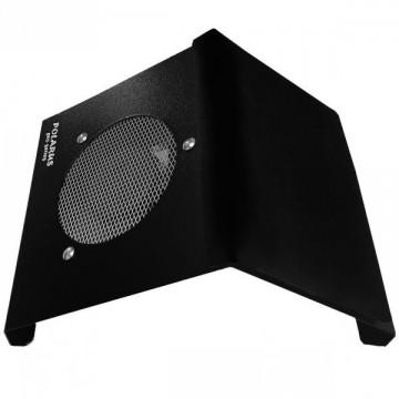 Пылесос для маникюра настольный Polarus PRO-series 80 Вт металл (черный) с подушкой