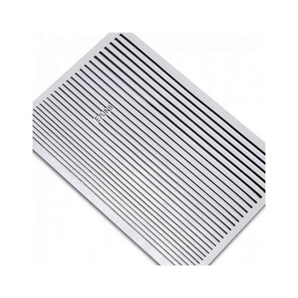 Гибкая лента для дизайна ногтей, черная
