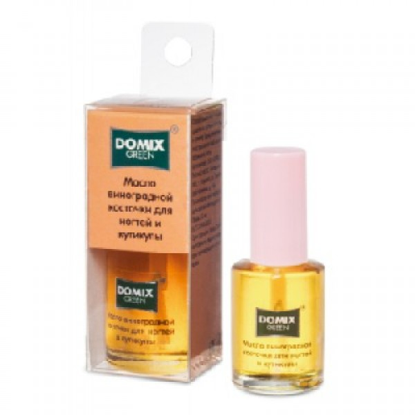DOMIX Масло для ногтей и кутикулы «Виноградная косточка» 17 ml