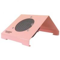Пылесос для маникюра настольный Polarus PRO-series 80 Вт металл (розовый)
