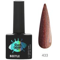Гель-лак RockNail Beetle 433 Admiral Butterfly