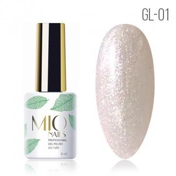 Гель лак MIOnails № GL-01. 8 ml