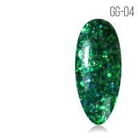 Гель-лак. Коллекция «Glitter Gel» № 04