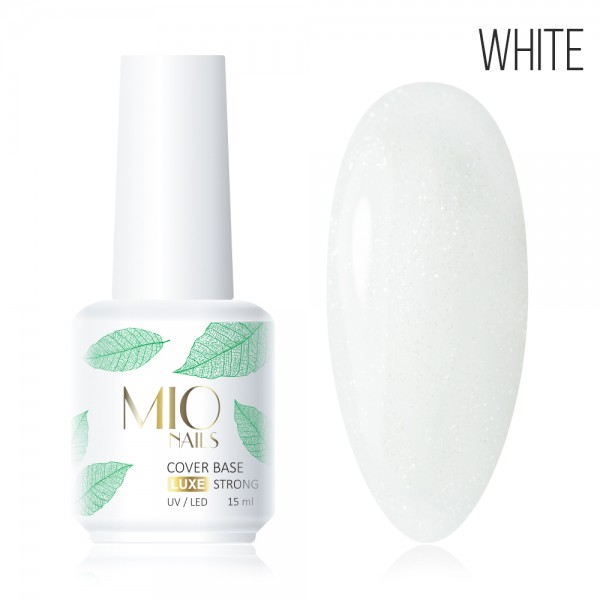 Mio SHIMMER Base Cover Strong LUXE White,15 мл