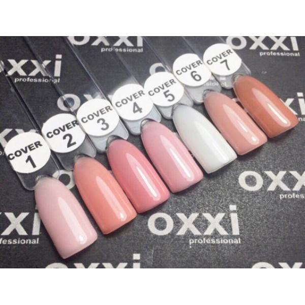 OXXI Cover Base - камуфлирующая база № 6 для гель-лака, 10 ml