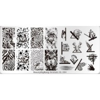 Пластина для стемпинга BeautyBigBang Animals XL-004
