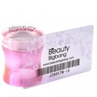 Штамп для стемпинга BeautyBigBang, розовый