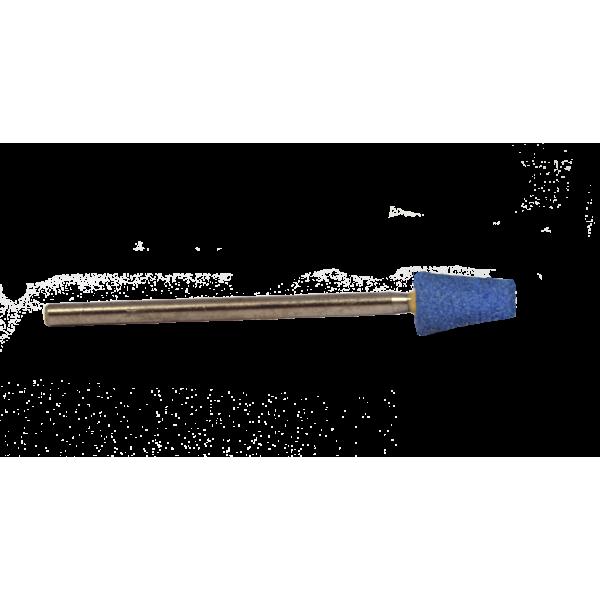 Корунд синий, конус усеченный,6мм