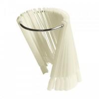 Веерная палитра натуральная (50 шт) на кольце