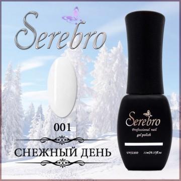 "Гель-лак ""Serebro"" №001, 11 мл"