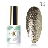 MIO гель-лак Platinum № 3 8 мл